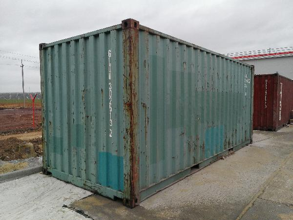 Заказать газель для перевозки морской контейнера 20 ф  (2 шт.) из р-н Пензенский в Санкт-Петербург