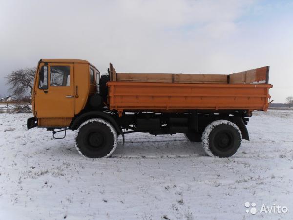 Каз 4540, 1996 г.в. из Елабуги в Ростов-на-Дону