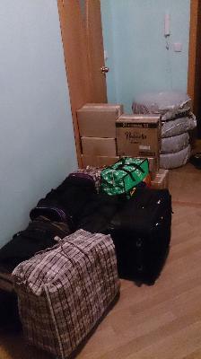 Доставить 7 сумок, 7 коробка средних размеров, 4 колёса r14. дешево догрузом из Тюмень в Лангепас