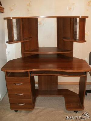 Доставить угловой компьютерный стол из Самары в Курумоча