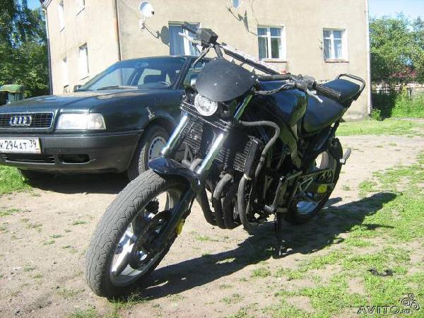 Перевозка личныx вещей : Honda CBR 600 F-1 из Садоводческого товарищества N48 в Самару