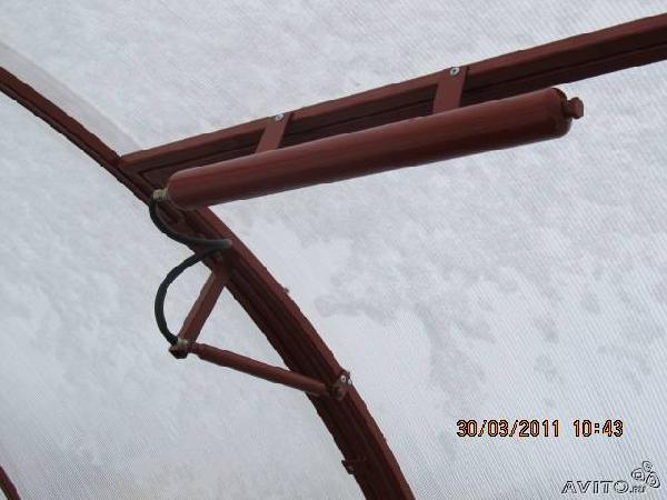 Перевозка личныx вещей : Проветриватель для теплиц из Любимовки в Уфу