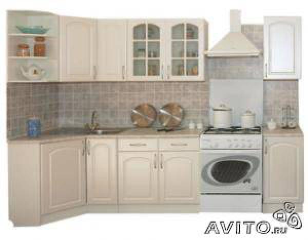 Доставить Кухня классика угловая 900 х 2 из Санкт-Петербурга в поселок домбаровский