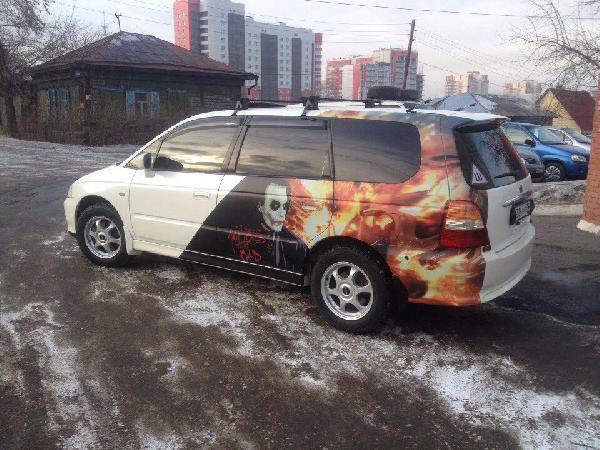 Перевозка автомобиля хонда одиссей / 2001 г / 1 шт из Красноярск в Краснодар