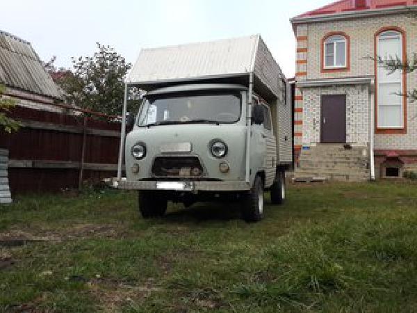 Перевозка авто сеткой уаз буханка / 2010 г / 1 шт из Ухты в Коживу