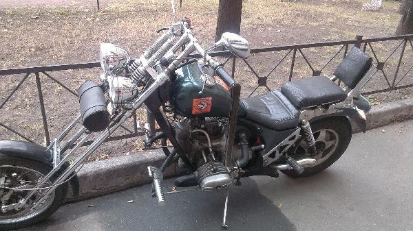 Мотоцикл. из Санкт-Петербург в Белоостров