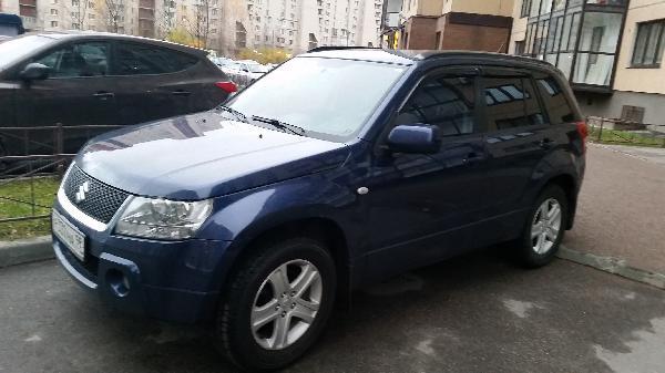 Отправка машин suzuki grand vitara, 2007 из Санкт-Петербург в Хабаровск
