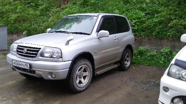 Перевозка автомобиля сузуки эскудо / 2000 г / 1 шт из Южно-Сахалинск в Калуга