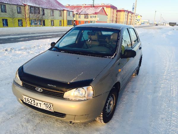 Перевозка автомобиля ваз калина / 2006 г / 1 шт из Новый Уренгой в Уфа