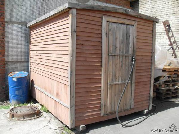 Транспортировать Хозблок (будка) 3мx2.30м из СНТ Ясной поляны в Алексеевское