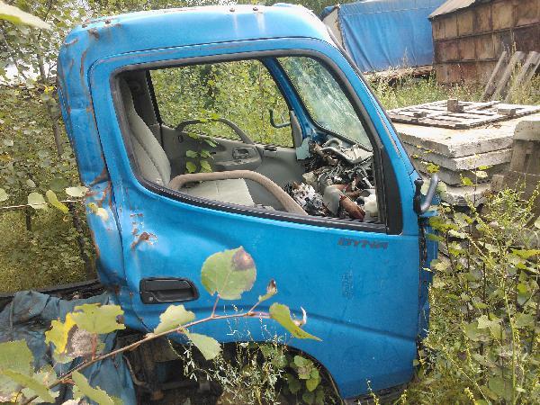 Перевозка автотранспортом кабины ота грузовичка тойоты дюны  догрузом из Пермь в Анапа