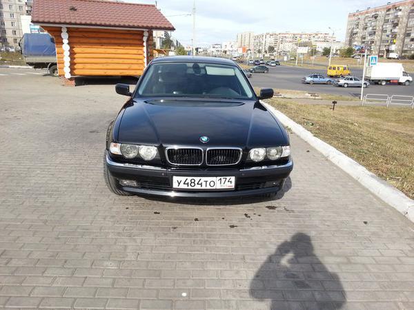 Перевозка автомобиля бмв 750 il / 2001 г / 1 шт из Магнитогорск в Иваново