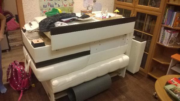 Газель с грузчиками для перевозки дивана разобранного 1, 5х92  вагонки 2, 1, плинтуса 2, 7 попутно из Москва в Липецкая область