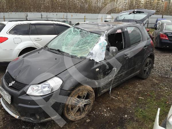 Перевозка автомобиля suzuki sx4 после дтп из Москва в Екатеринбург