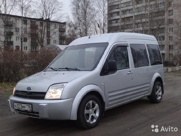 Перевозка авто сеткой форд  торнэо конект  / 2015 г / 1 шт из Санкт-Петербург в Москва