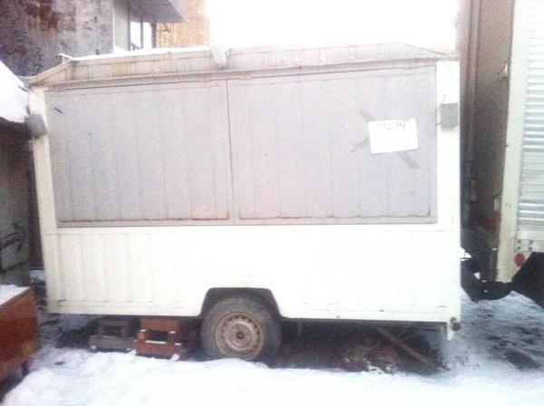Транспортировать трейлера (киоск на колесах) недорого из Екатеринбург в Новосибирск