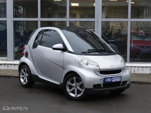 Перевозка автомобиля smart for / 2008 г / 1 шт из Санкт-Петербург в Москва