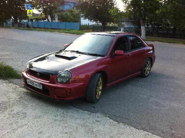Перевозка авто сеткой subaru imp / 2000 г / 1 шт из Новый Уренгой в Владивосток