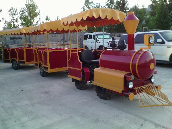 Перевозка аттракциона паравозик из Махачкала в Армавир