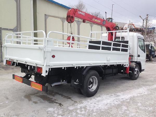 Перевозка автомобиля mmc canter грузовик с манипулятором / 2004 г / 1 шт... из Владивосток в Петропавловск-Камчатский