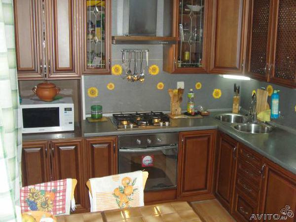 Перевозка мебели : Кухонный гарнитур с встроенной из Алексеевского в Новомогилевский