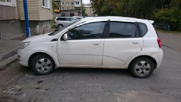 Перевозка автомобиля chevrolet ave / 2009 г / 1 шт из Иркутск в Минеральные Воды