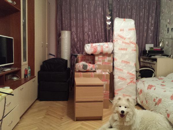 Заказать газель для перевозки коробок, личных вещей, других грузов из Москва в Калининград