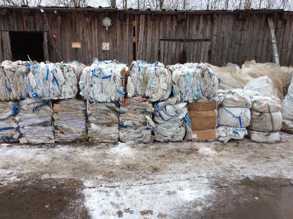 Грузоперевозки на газели макулатуру в кипах и бига бэгах дешево из Подпорожье в Санкт-Петербург