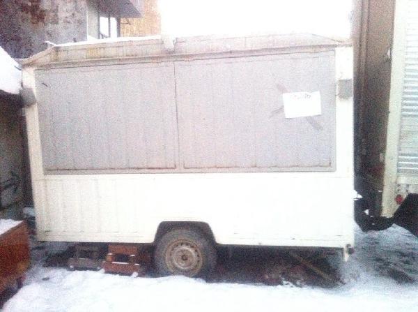 Стоимость автодоставки торговый прицеп(трейлер) догрузом из Екатеринбург в Томск