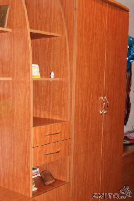 Заказ грузовой газели для транспортировки мебели : Детская стенка из Новочелатканова в Снт N33 Ромашку