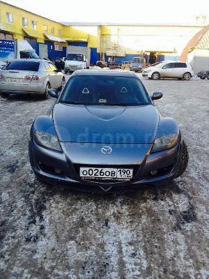 Перевозка автомобиля mazda rx8 из Верхняя Пышма в Димитровград