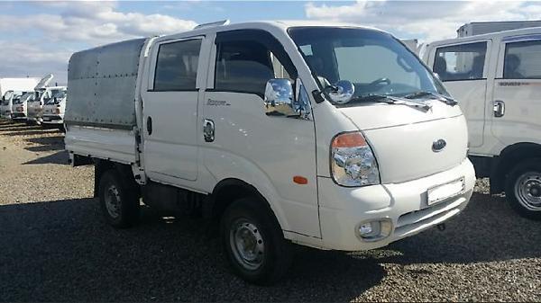 Отправка автомобиля kia bongo iii, грузовик 2010года из Хабаровск в Улан-Удэ