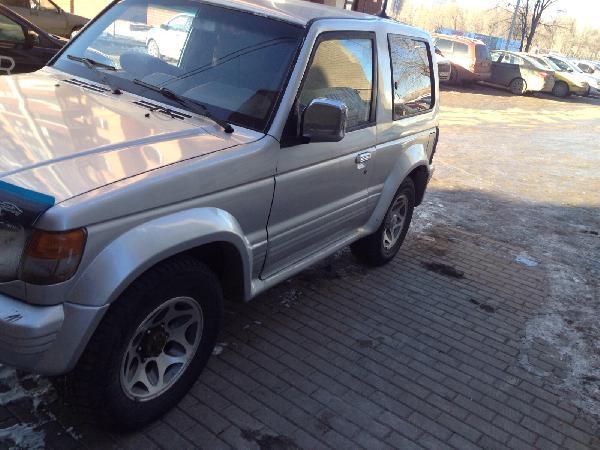 Перевозка автомобиля mitsubishi pajero 2  3-х двер из Набережные че в Чехов