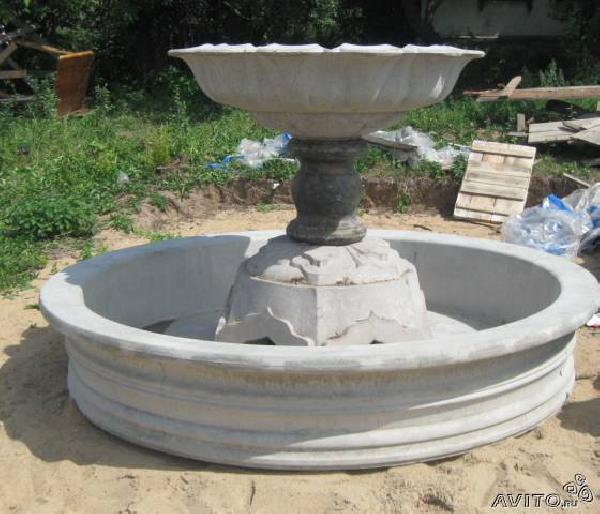 Чаши для фонтана из бетона