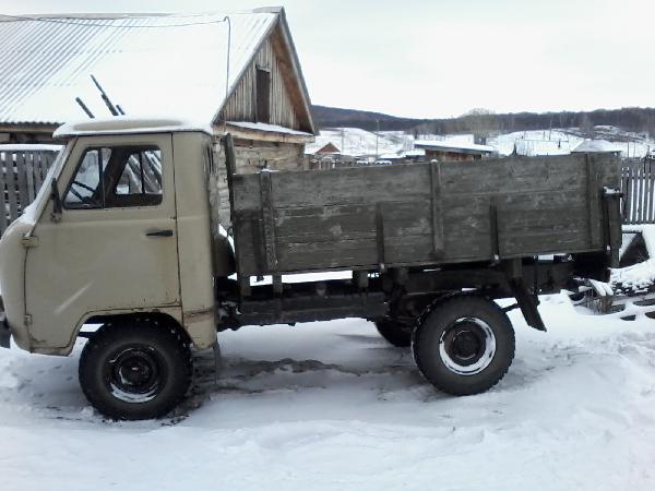 Перевозка автомобиля уаз 3303 бортовой из Уфа в Нижневартовск