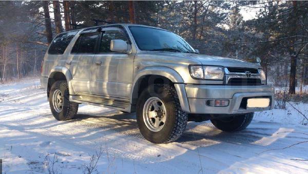 Перевозка автомобиля toyota surf hilux / 2002 г / 1 шт из Чита в Омск