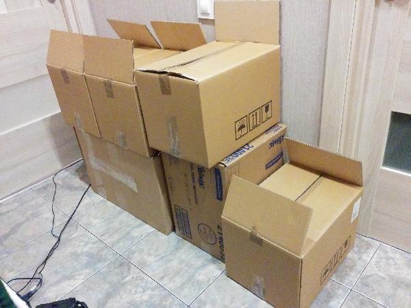 Перевезти коробки на дачу из Санкт-Петербург в Дзержинск