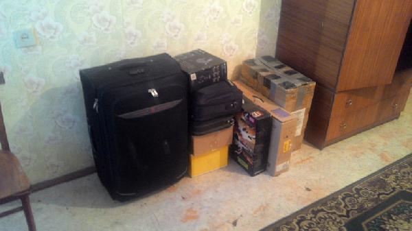 Перевезти коробки, сумки стоимость из Иркутск в Москва