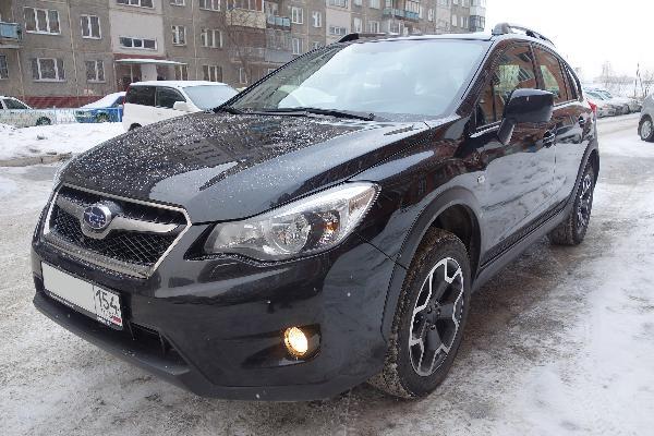 Перевозка автомобиля subaru xv / 2013 г / 1 шт из Новосибирск в Владивосток