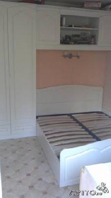 Отправка мебели : Шкаф,кровать,подвесная полка из свх МВД в Чеховскую район деревню Мальцы