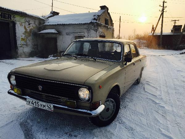 Перевезти автомобиль волга 24. 1984 г.в из Кемерово в Москва