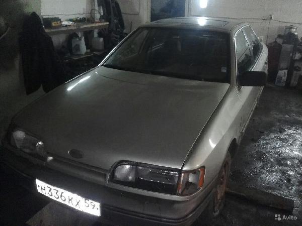 Отправка машин ford scorpio 1988 из Пермь в Петрозаводск