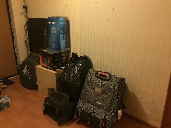 Заказ машины переезд перевезти личные вещи (одежда+ коробки с мелкой техникой) из Москва в Воронеж