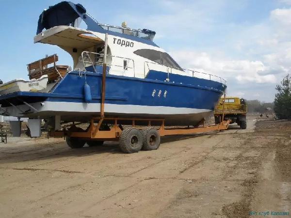 Доставка катера из Калязин в Сургут