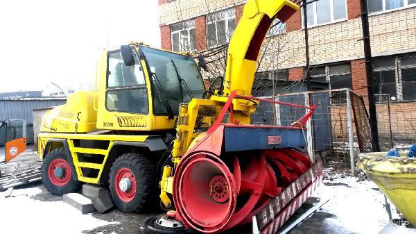 Перевезти снегоротор boschung b6, перевозка 2002га из Архангельское пос. в Сургут