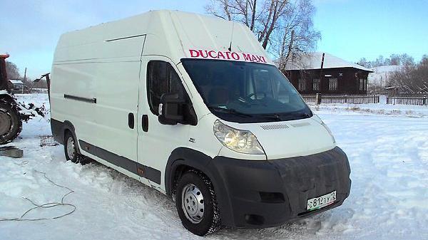 Fiat ducato 2012г из Новосибирск в Хабаровск