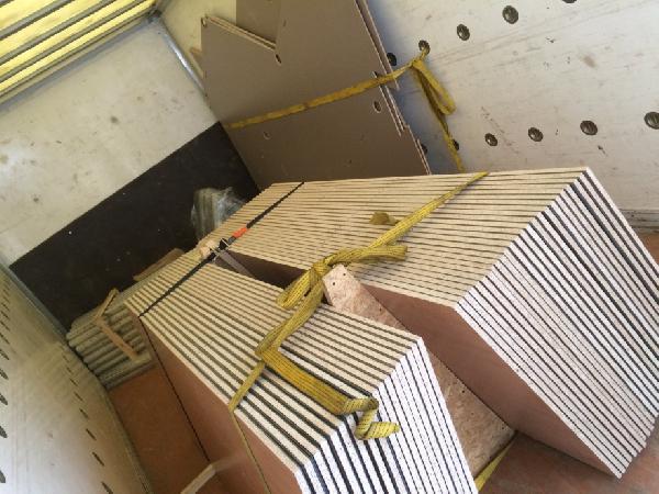 Доставка лдсп листов, труб албминия 2, 3м, коробок на газели фермер из Кудиново в Королев