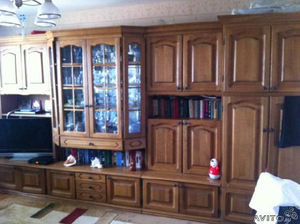 Заказ авто для доставки личныx вещей : Мебельная стенка из Краснодара в Ст.воронежскую