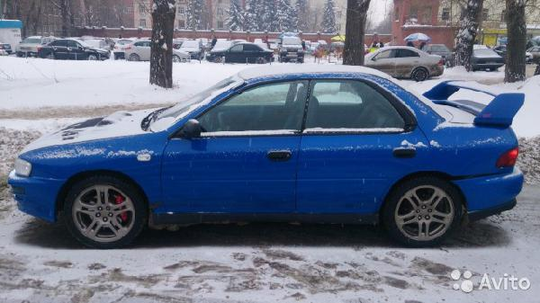 Перевозка автомобиля subaru wrx / 1998 г / 1 шт из Самара в Калининград