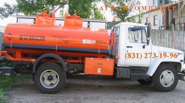 Перевозка автомобиля газ-3309 топливозаправщик из Нижний Новгород в Хабаровск